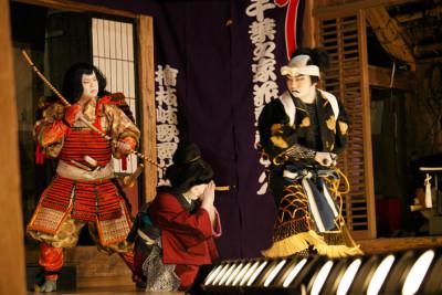 檜枝岐歌舞伎 愛宕神祭礼奉納歌舞伎1